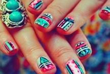 nails / Uñas❤️ y más uñas / by mara espejo