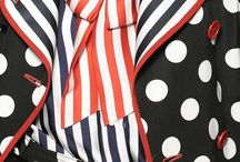 Pois and stripes