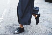 TROUSERS / Wide leg, cropped, cigarette, slim, but most of all high-waisted.