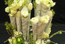 Blumengestecke, Kompozycje / Blumendekor, Stroiki