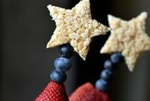 Red, White, and Blue / Recipes, decor, and DIY's for Independence Day!