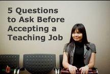 Teacher Job Interviews