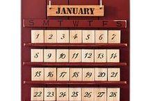 Calendars / by Maria N Antonio Davila