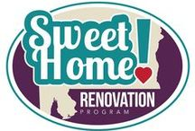 Sweet Home! Renovation Program / Are you interested in a fixer upper? We can help make that process easier with our Sweet Home! Renovation Program
