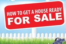 Home Selling Tips / Advice on Home Selling that covers what to do to prep your home, choosing an agent, staging, and more!