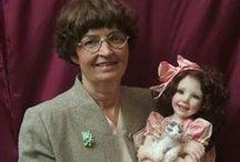 Jane Bradbury dolls