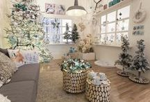 Frozen Magic (kersttrend 2014!) / Pure materialen, verstilde decoraties, veel wit en de allermooiste eenvoud die je kunt bedenken.