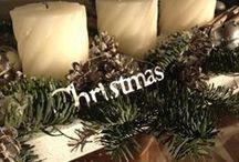 Classic Silver Bells & Golden Glow / zilver, glanzend glas, warm, kerstgroen, dennenappels en veel kaarsen. klassieke kerst!