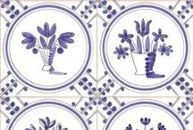 hand painted tiles / Reptile Tiles - handmade and hand painted tiles by Carlo Briscoe & Ed Dunn
