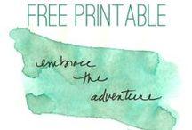 Printables please! / by Victoria Hopper