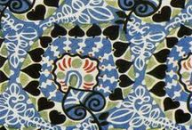 pattern and textile / patterns, fabrics, embroidery, quilting, weaving, appliqué.......