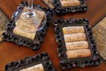 Getting Crafty with Corks / Fun things to do with those leftover wine corks...