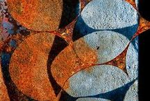 rust and disintegration