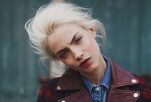 Fashion Editorials - taste / poses / framing