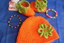 Cappellino + scarpette / coordinati per bambini realizzati a mano