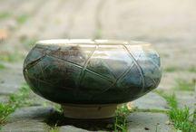 schalen / Schalen en kommen. Handgemaakt door Bosch Keramiek.