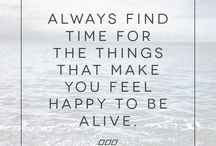 #QuotesAndWords / Always think positive and let yourself know that you're always special