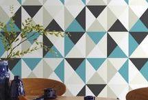 Décoration Géométrique / La décoration de style géométrique on l'adore tous ! Alors voici pour vous quelques idées pour vous s'inspirer :)