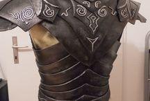 Cosplay: Armour / Tutoriais, cuidados e criações de todas as partes da armadura: helmet, mask, sword, claws, protect parts. E informações sobre os materiais possíveis
