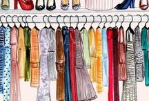 #WalkingInWardrobeDressingTable / A place where you can spend more times after showering  I luv these ideas to 'spoil' myself by being among my collections