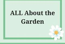 All about the Garden / A garden speaks of nature and it's gifts.. adding items, growing food and flowers all are part of that..
