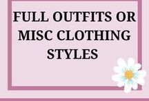Full Outfits or Miscellaneous / Here I have items that are with accessories as well as the outfit together to give a complete look.  I also have miscellaneous items stashed away here too.  Enjoy!