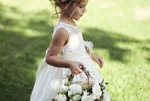 Flower girl / ring bearer rideas