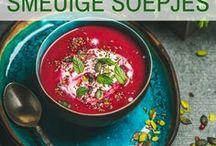 Libelle - Smeuïge soepjes / Hét voorgerecht bij uitstek: soep. Heerlijk op grootmoeders wijze of met een creatieve toets! https://www.libelle.be/lekker/