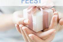 Libelle - Feest / Ideetjes voor elk speciaal feest! Communies, verjaardagen, trouw, lentefeesten, enzovoort. https://www.libelle.be/vrije-tijd/