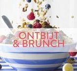Libelle - Ontbijt & Brunch / Een bord vol met lekkers om te serveren bij het ontbijt of bij een gezellige zondagse brunch! https://www.libelle.be/lekker/