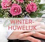 Libelle - Winterhuwelijk / De meeste bruiloften worden in de zomer gehouden. Maar een huwelijk in de winter kan net zo romantisch en magisch zijn, zeker als de sneeuw van de partij is. Wij verzamelden de mooiste beelden voor een geslaagd winterhuwelijk.