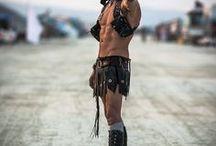 Burning Man - burners, bodies.  -  burningman