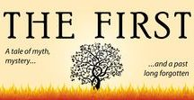 The First by Lisa M. Green / The First, a novel of mythic and paranormal fantasy by Lisa M. Green
