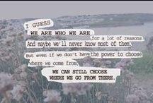 lyrics & quotes
