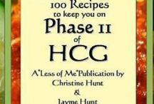 HCG Diet ... Ph-2 / by Becky Price