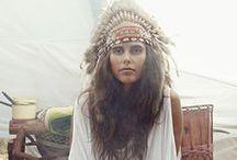 Ethnic, hippie, boho..