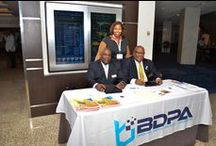 #BDPACON2015     #BDPAXL / In 2015, National BDPA's Washington, D.C. Chapter, BDPA Washington (DC) co-hosted #BDPACON2015 . Industry celebrates National BDPA's 40th anniversary series of events commemorating 40 years of neighborhood technology-inclusion programs and community outreach events for local and national STEM initiatives developed by National BDPA to bridge digital divides in underserved communities across America.   Hash tags #BDPAXL and #BDPA40 also may be used to support 2015's 40-year celebrations.
