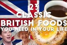 British Food / Some traditional British Dishes  / by Tim Shoukry