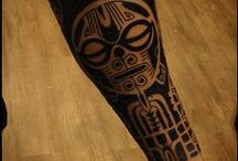 Maori/Tribal/Geometric / #maori #tattoo #sleeve #tribal