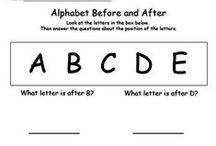 Alphabet Worksheets / PRESCHOOL AND KINDERGARTEN ALPHABET PRINTABLE WORKSHEETS including flashcards and letter recognition activities. For more printable worksheets, visit https://www.myteachingstation.com/.