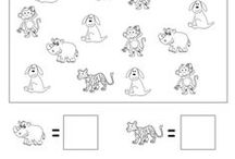 Numbers & Counting / PRESCHOOL AND KINDERGARTEN NUMBERS AND COUNTING PRINTABLE WORKSHEETS for teachers and homeschool parents. For more printable worksheets, visit https://www.myteachingstation.com/.