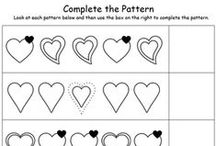 Patterns Worksheets / PRESCHOOL AND KINDERGARTEN PATTERNS PRINTABLE WORKSHEETS for teachers and homeschool parents. Teach pattern-recognition with My Teaching Station free printables. For more worksheets, visit https://www.myteachingstation.com/.