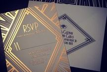 Wedding Stationery / Wedding Invitations, Save the Dates, Menu Cards, Unique Seating Charts, Programs, Escort Cards, and other fun paper stuff!