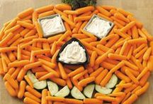 Halloween Fun Food / Crafty Collection of party foods I like for Halloween