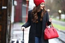 Travel Fashion Winter ✈ / Winter clothing for your adventure off to a snowy wonderland. Travel fashion.