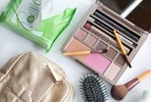 Travel Beauty Essentials ✈ / Ways to stay gorgeous when you travel.