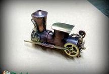 Férfi ajándék / #pendrive #ajándék #steampunk #kézműves #deluxe #férfi #informatikai