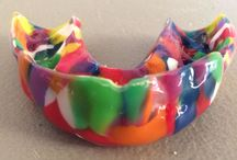 Impact Custom Mouthguards / The possibilities are endless when it comes to creating an Impact Custom Mouthguard. Check out our selections and see more at www.impactmouthguards.com.