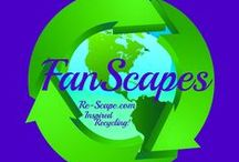 Re-Scape FanScapes & BizScapes / Re-Scape asked Facebook Fans how they Recycle, Repurpose and Reuse and the response has been Remarkable! Here is a gallery of creations from our very own ReScapers! / by Re-Scape.com