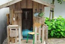 Re-Scape Sheds, Cottages,Treehouses & Workshops / Re-Scape loves sheds, cottages, coops, greenhouses and workshops....especially when they use recycled materials/DIY!